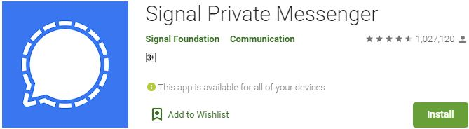 Download Signal Private Messenger For Windows