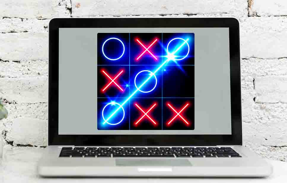 Download Tic Tac Toe Glow For PC