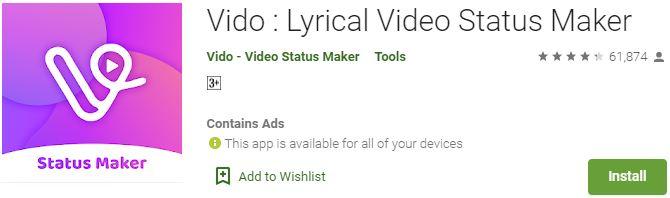 Download Vido For Windows