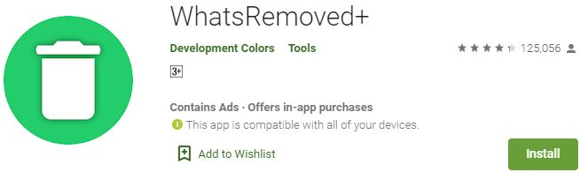 Download WhatsRemoved+ For Windows