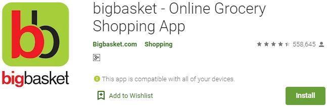 Download bigbasket For Windows