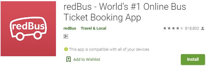 Download redBus For Windows