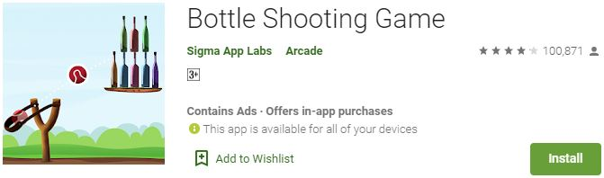 Download Bottle Shooting GameFor Windows