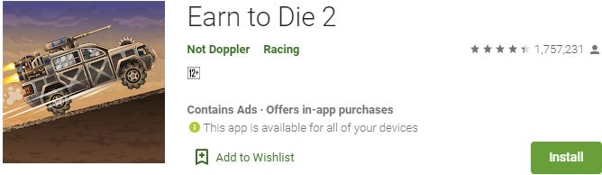 Download Earn to Die 2 For Windows