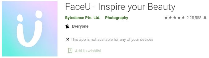 Download FaceU - Inspire your Beauty For Windows