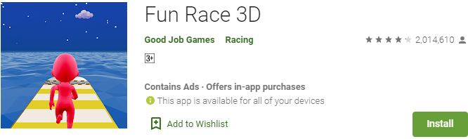 Download Fun Race 3D For Windows