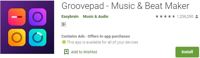 Download Groovepad for Windows