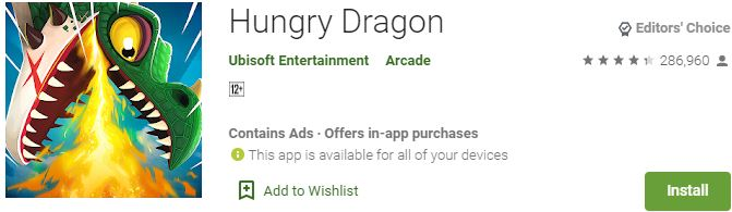 Download Hungry Dragon For Windows