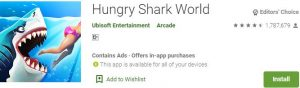Download Hungry Shark World For Windows