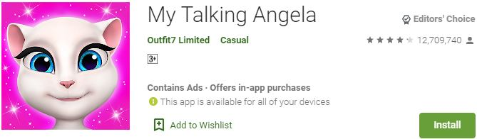 Download My Talking Angela For Windows