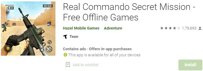 Download Real Commando Secret Mission For Windows