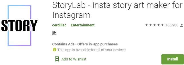 Download StoryLab For Windows