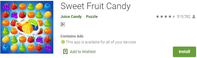 Download Sweet Fruit Candy For Windows