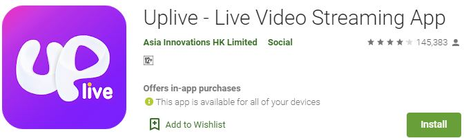 Download Uplive For Windows