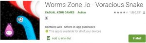 Download Worms Zone .io For Windows