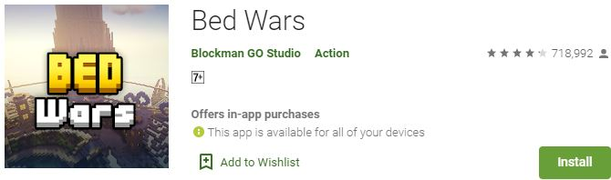 Download Bed Wars For Windows