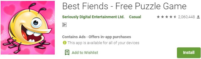 Download Best Fiends - Free Puzzle Game For Windows