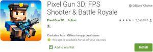 Download Pixel Gun 3D For Windows
