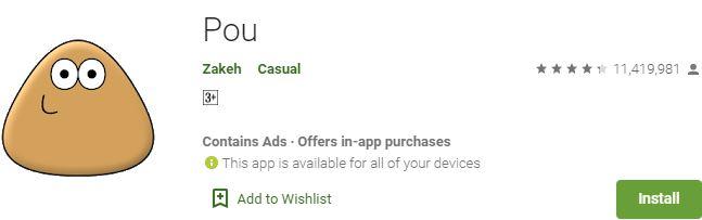 Download Pou For Windows