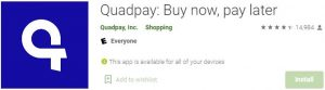 Download Quadpay For Windows