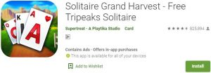 Download Solitaire Grand Harvest For Windows