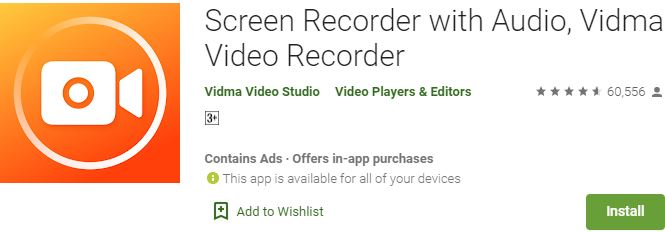 Download Vidma Video Recorder For Windows