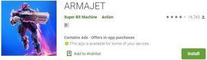 Download ARMAJET For Windows