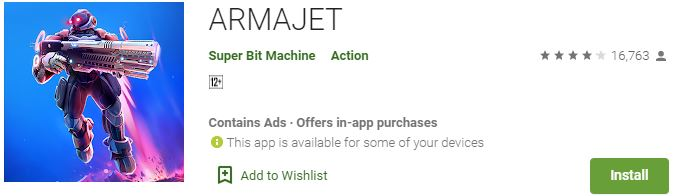 Download ARMAJET For Windows