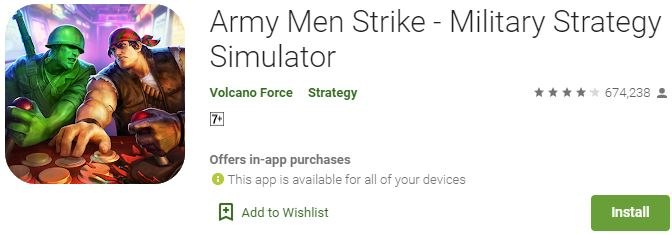 Download Army Men Strike For Windows