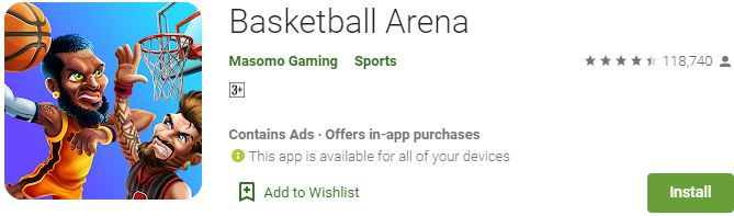Download Basketball Arena For Windows