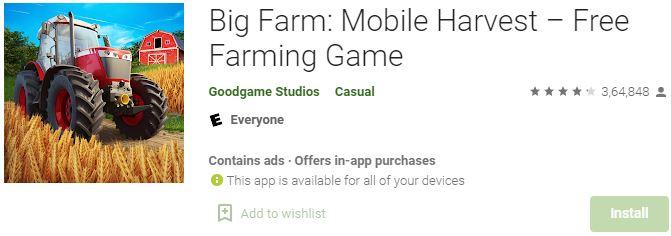 Download Big Farm Mobile Harvest For Windows