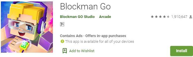 Download Blockman Go For Windows