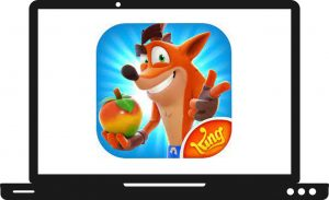 Download Crash Bandicoot On the Run For PC