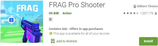 Download FRAG Pro Shooter For Windows