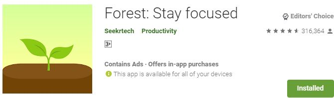 Download Forest Stay focused For Windows