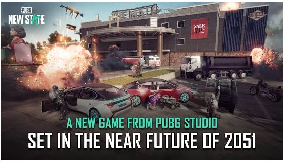 Download PUBG NEW STATE For Mac