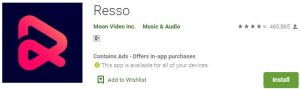 Download Resso For Windows