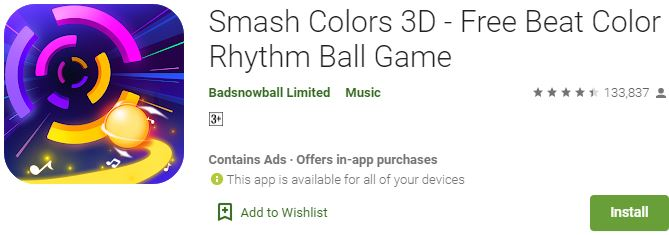 Download Smash Colors 3D For Windows