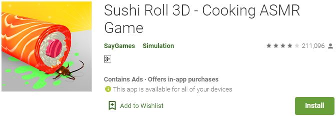 Download Sushi Roll 3D - Cooking ASMR Game For Windows