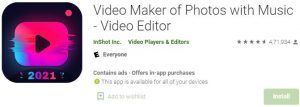 Download Video Maker of Photos with Music For Windows