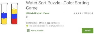 Download Water Sort Puzzle For Windows