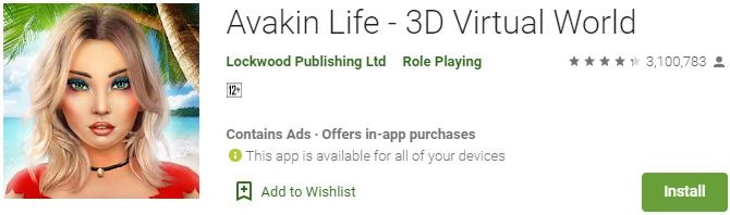 Download Avakin Life - 3D Virtual World For Windows