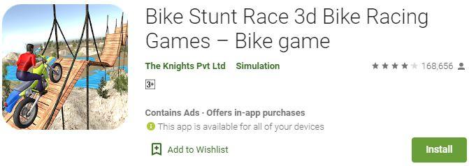 Download Bike Stunt Race 3D For Windows
