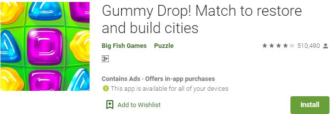 Download Gummy Drop For Windows