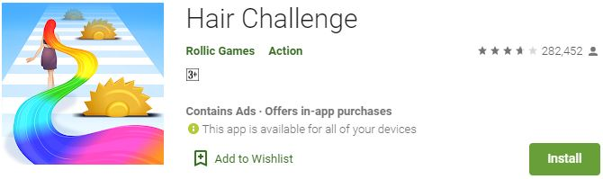 Download Hair Challenge For Windows