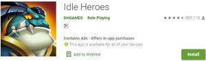 Download Idle Heroes For Windows