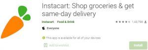 Download Instacart Shop groceries For Windows