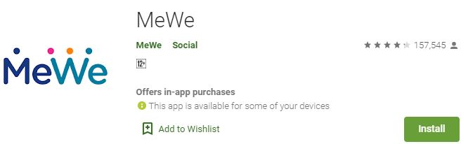 Download MeWe For Windows
