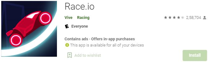 Download Race.io For Windows
