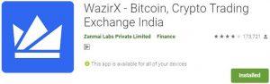 Download WazirX For Windows